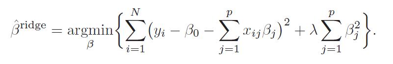 The Problem of Many Predictors - Ridge Regression and Kernel